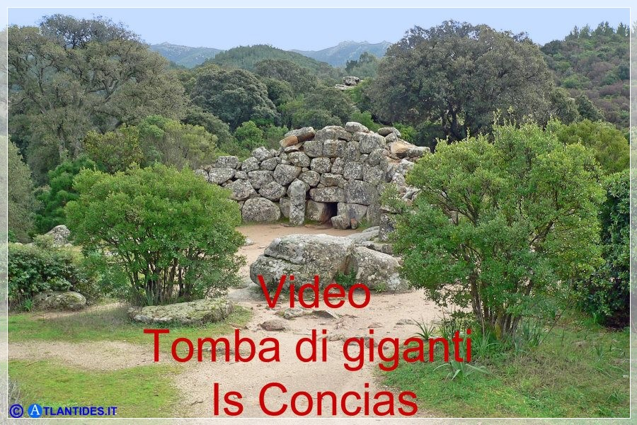 Vai al capitolo VIDEO TOMBA DI GIGANTI IS CONCIAS  Go to section VIDEO TOMBA DI GIGANTI IS CONCIAS