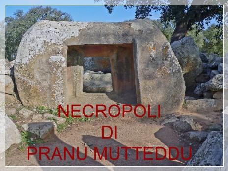 Vai al capitolo NECROPOLI DI PRANU MUTTEDDU. Go to section NECROPOLI DI PRANU MUTTEDDU